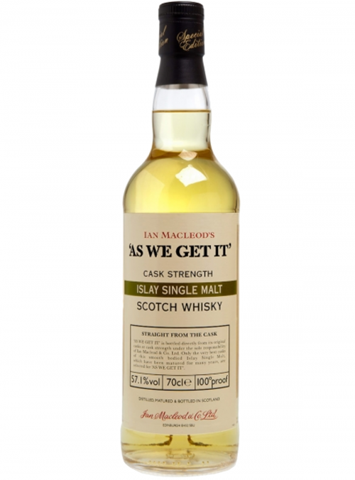 Confezione regalo Whisky Islay Single Malt As We Get It