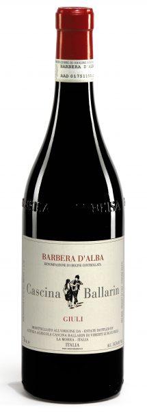 Vino rosso Barbera d'Alba Giuli