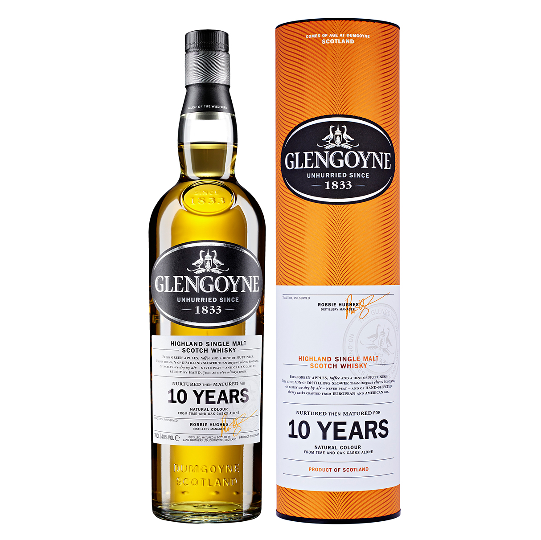 Confezione regalo Whisky 10yo Glengoyne