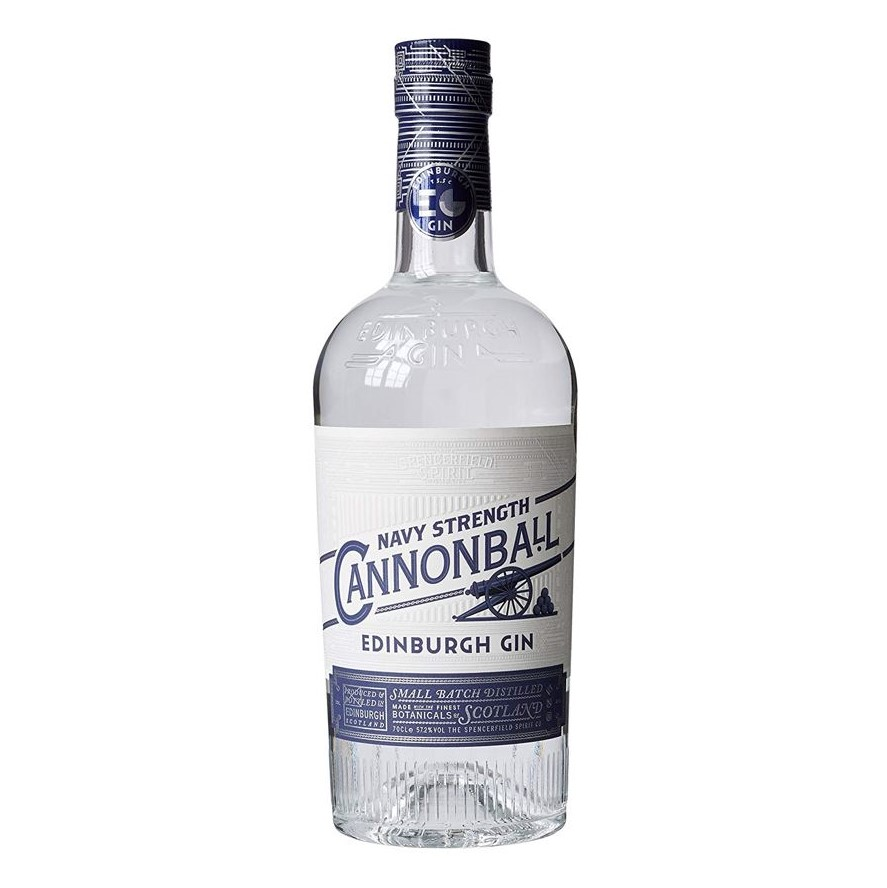 Distillato Gin Cannonball Navy Strenght Edinburgh Distillery