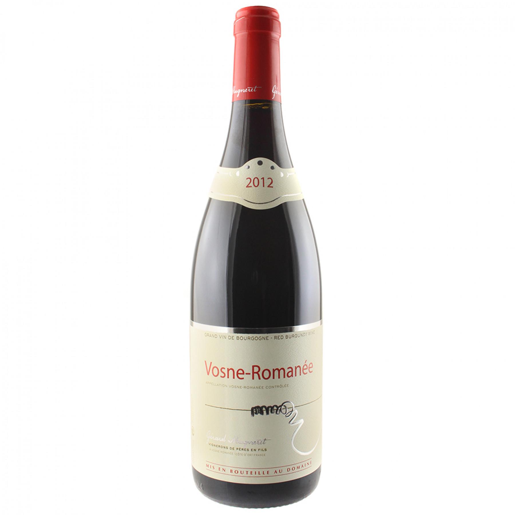 Vino rosso Vosne Romanée