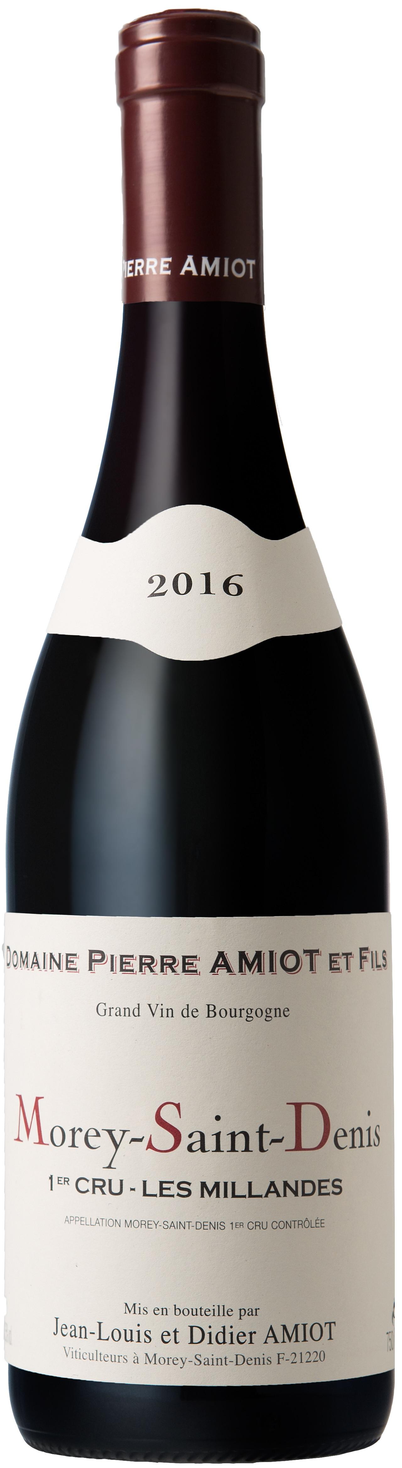 Vino rosso Morey Saint Denis Les Millandes Premier Cru
