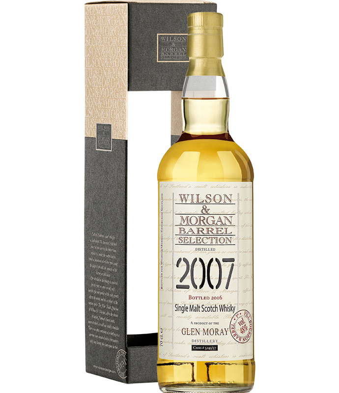 Confezione regalo Whisky Glen Moray Wilson & Morgan