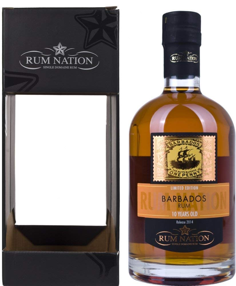 Confezione regalo Barbados 10yo Rum Nation