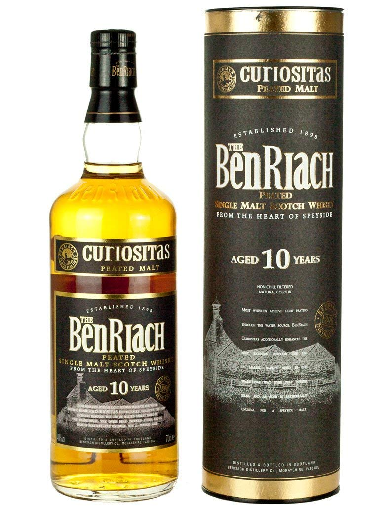 Confezione regalo Whisky Curiositas Peated BenRiach