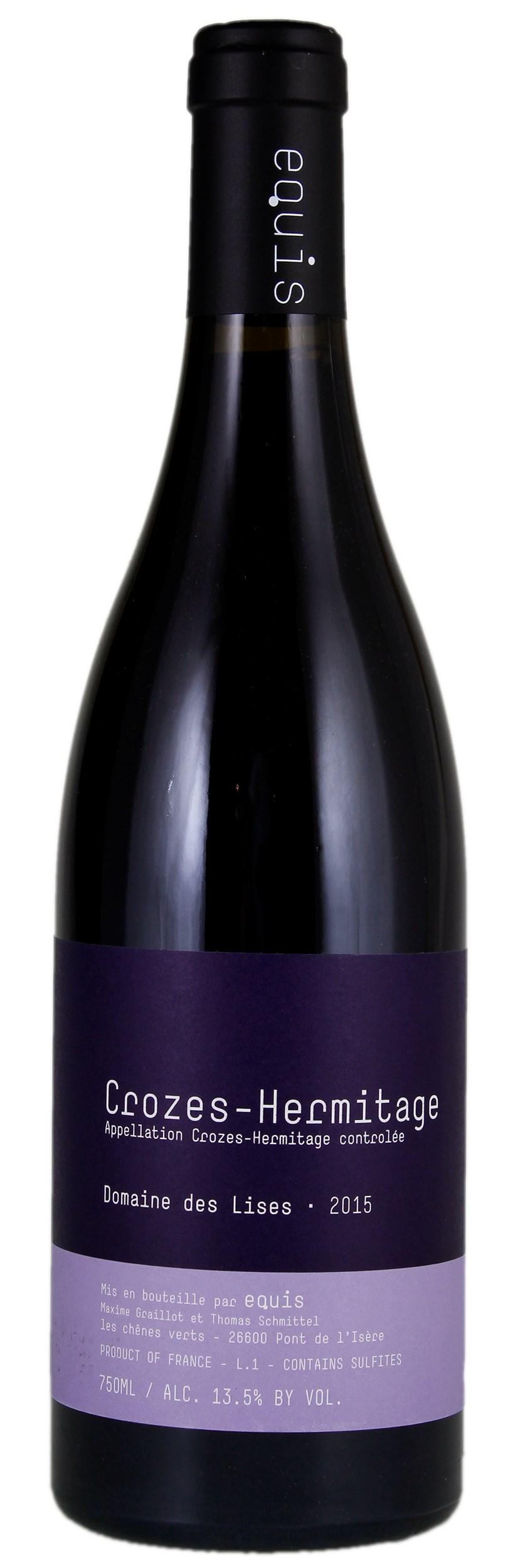 Vino rosso Crozes-Hermitage Domaine des Lises