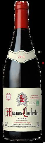 Vino rosso Mazoyères-Chambertin Grand Cru
