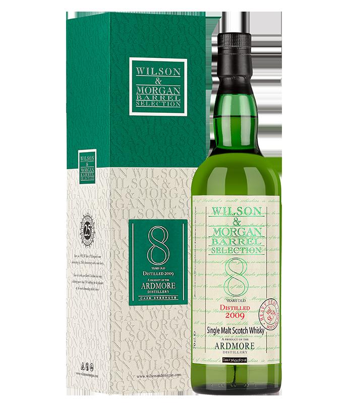 Confezione regalo Whisky Ardmore 8yo Wilson & Morgan