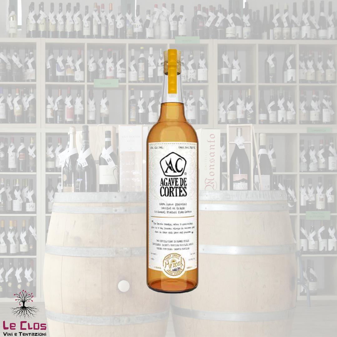 Distillato Mezcal Reposado Artesanal Agave de Cortes