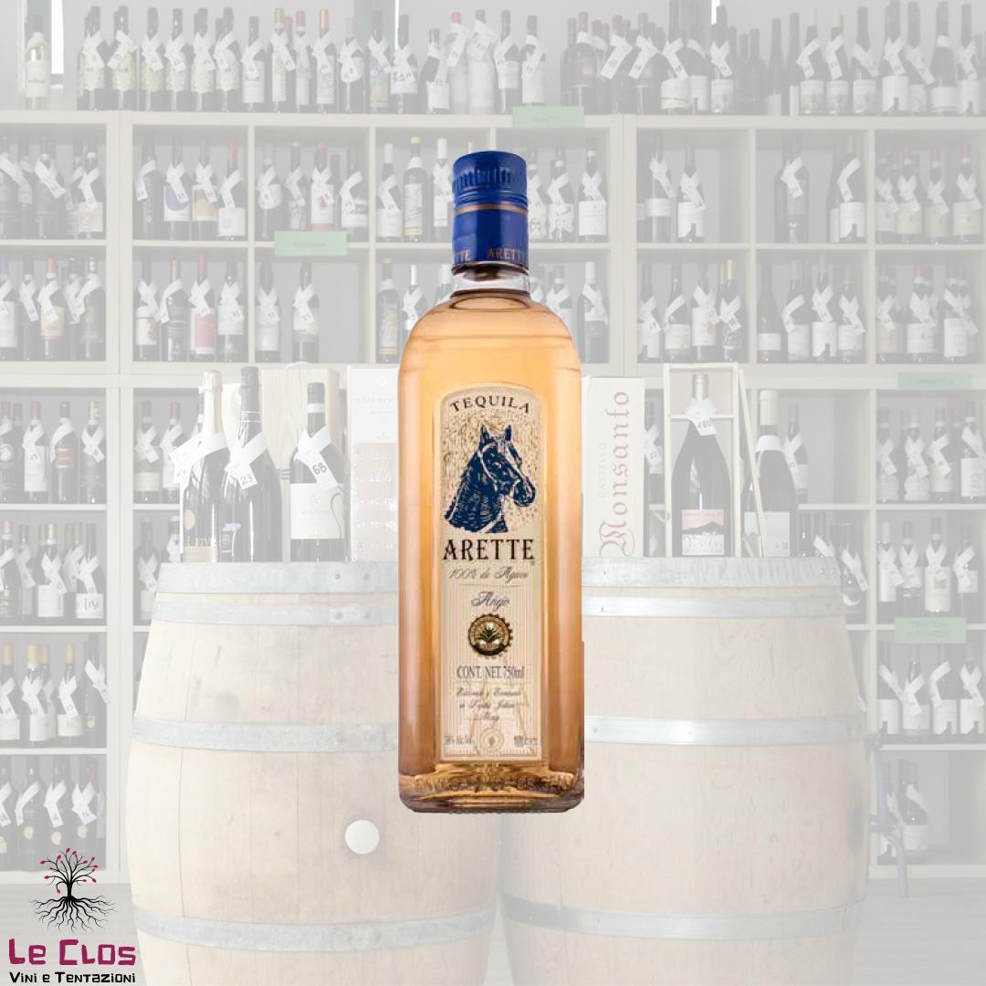 Distillato Tequila Anejo 100% Agave Azul Arette