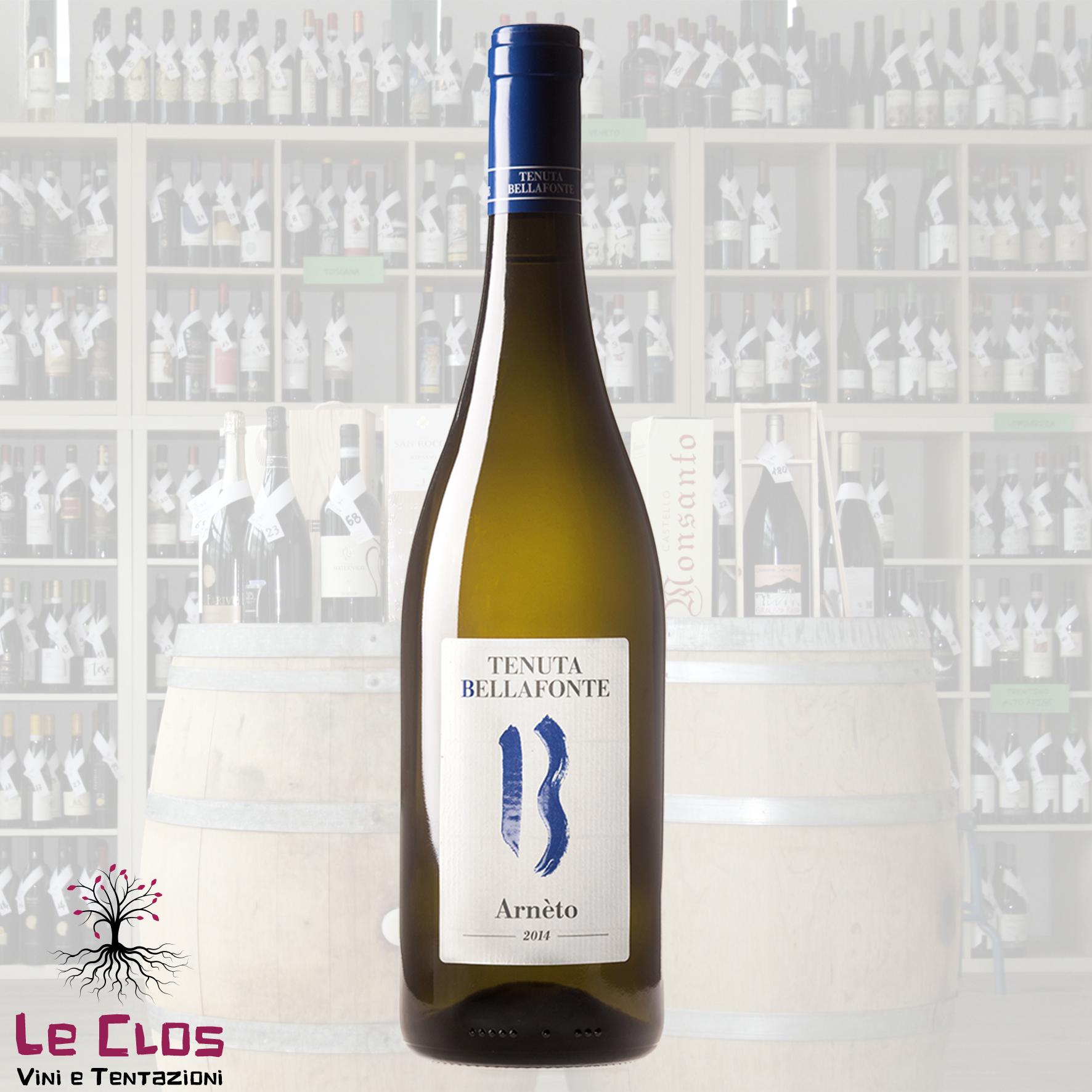 Vino bianco Arneto - Trebbiano Spoletino