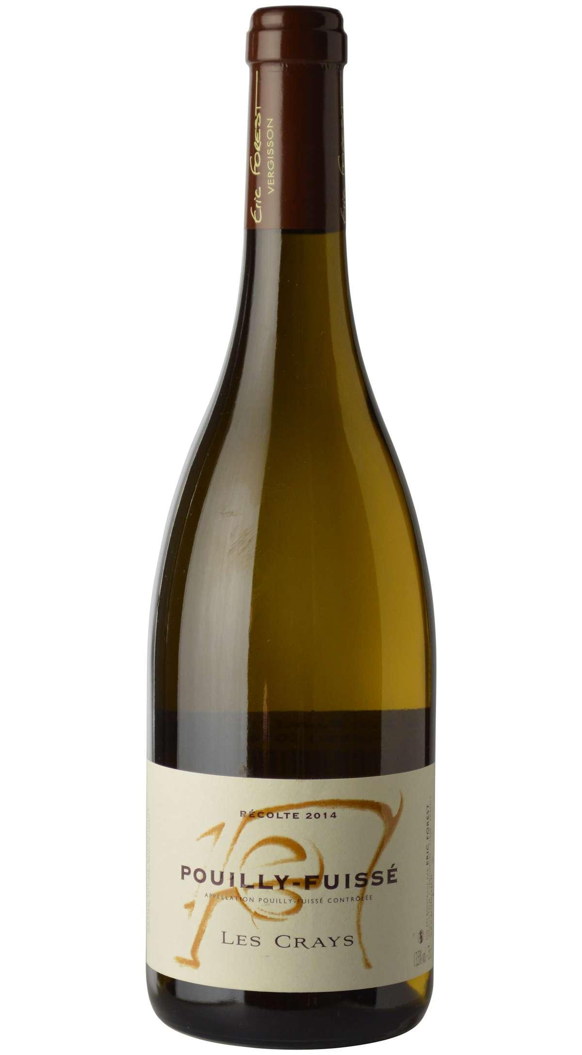 Vino bianco Pouilly-Fuissé Les Crays