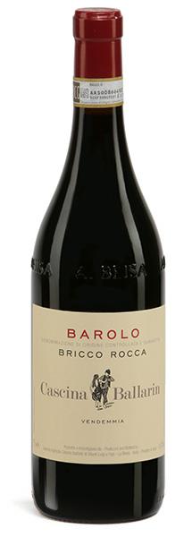 Vino rosso Barolo Bricco Rocca
