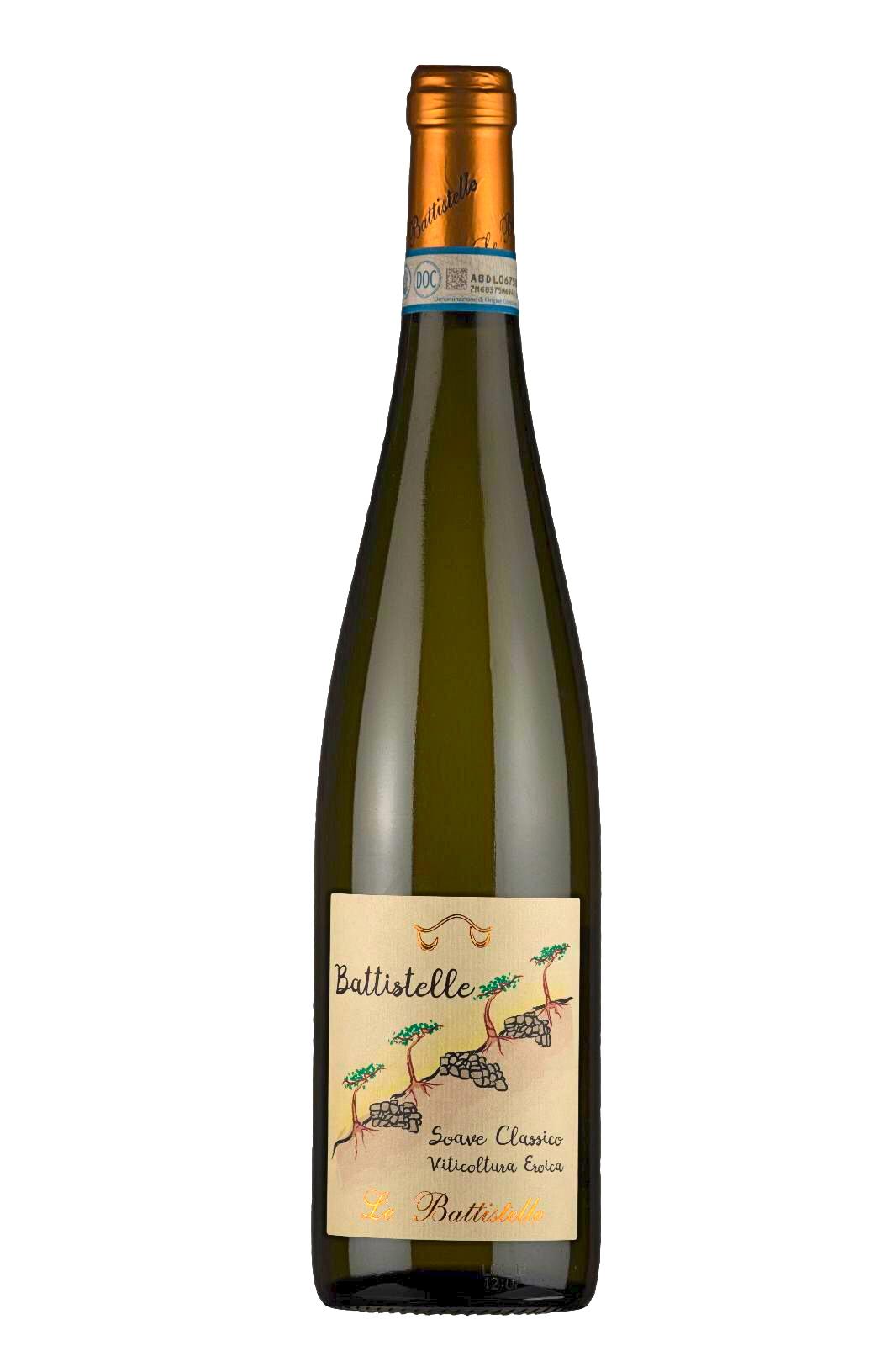 Vino bianco Soave Classico Battistelle