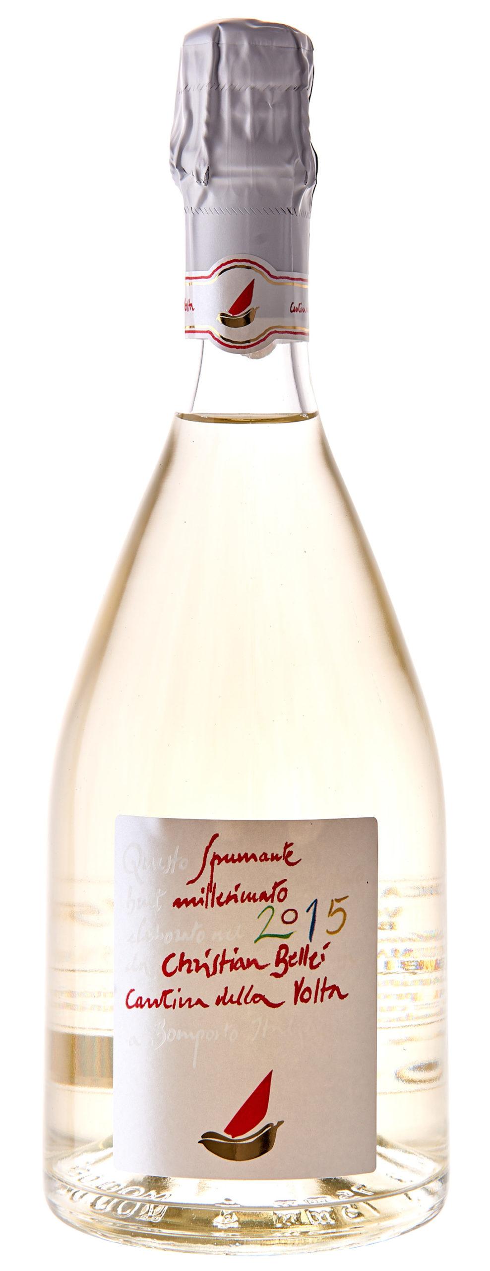 Vino rosso Spumante Metodo Classico Cristian Bellei Millesimato Brut VSQ