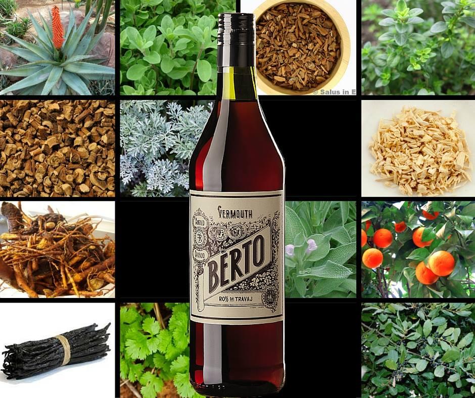 Distillato Vermouth Rosso Berto Distilleria Quaglia
