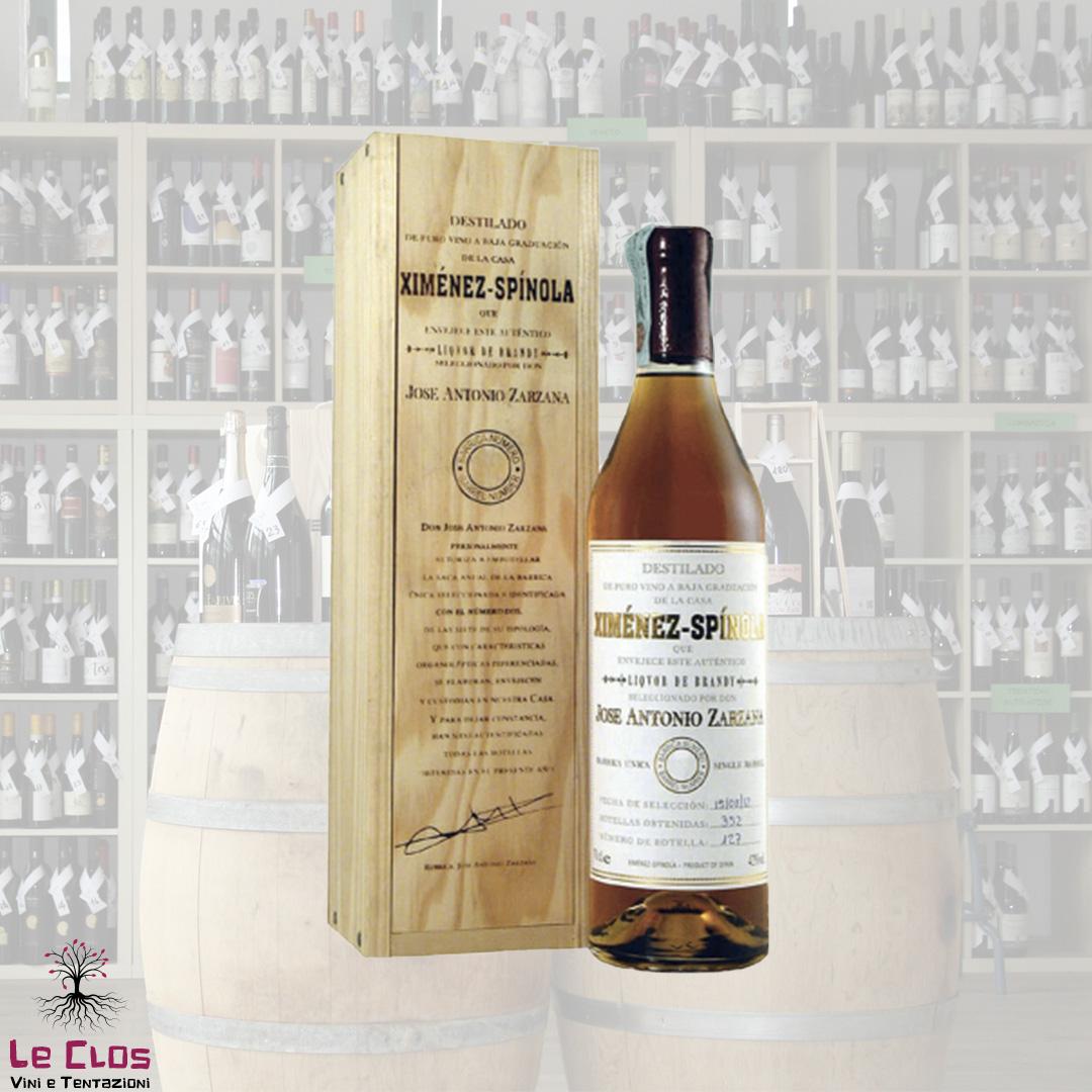 Distillato Brandy Criaderas La Experienca del Castano Ximenez Spinola
