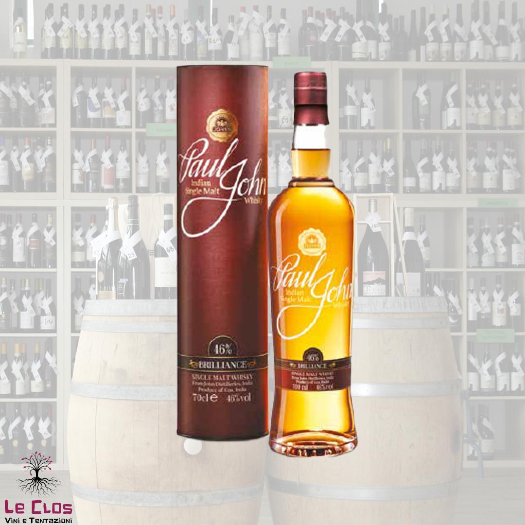 Distillato Whisky Brillance Single Malt Paul John