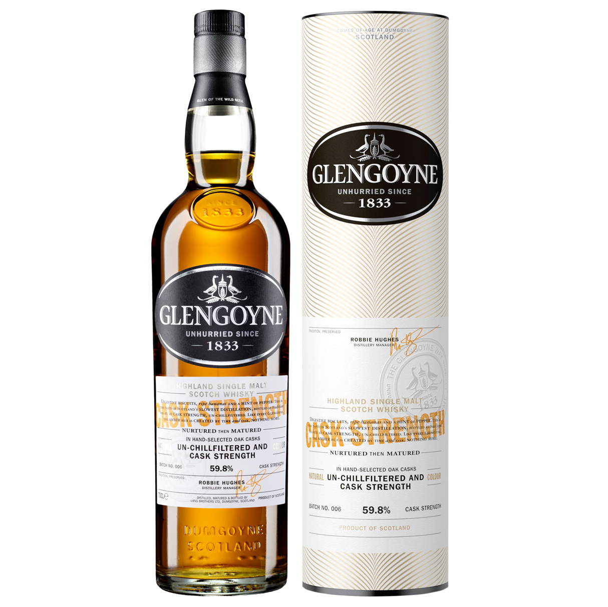 Confezione regalo Whisky Cask Strenght Glengoyne