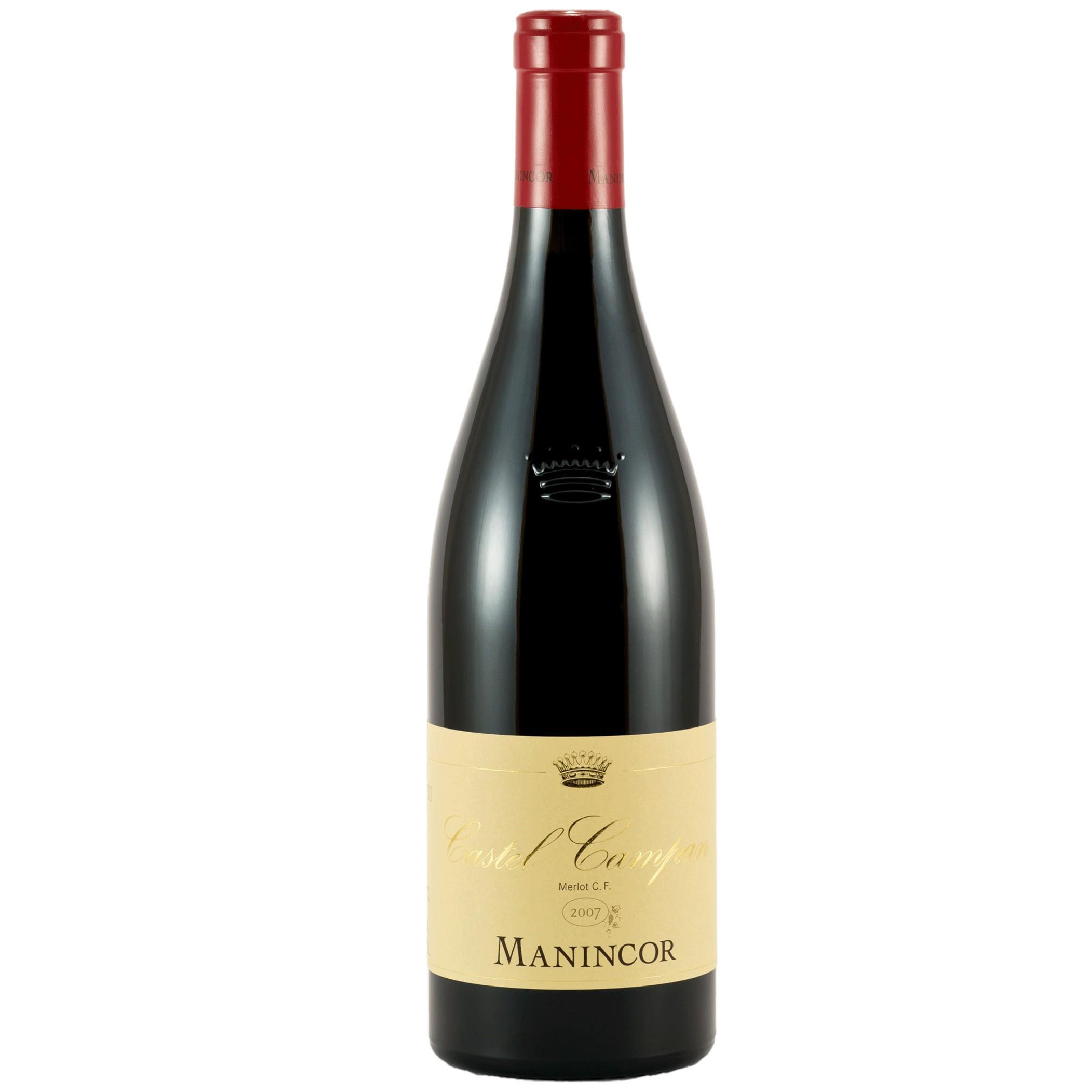Vino rosso Merlot Castel Campan