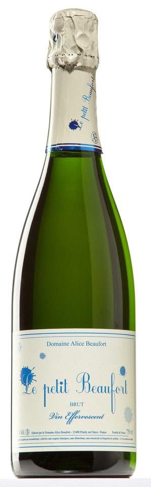Vino champagne Le Petit Beaufort Demi Sec Millésime