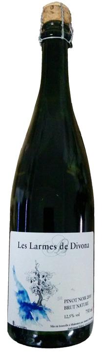 Vino champagne Les Larmes de Divona Chardonnay