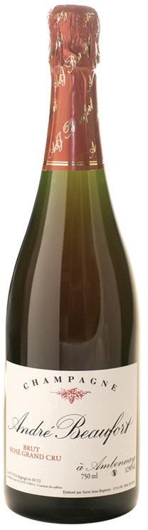 Vino champagne Ambonnay Rosè Grand Cru