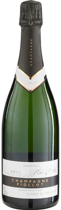 Vino champagne Cuvée de Reserve Brut