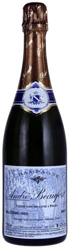 Vino champagne Polisy Brut Millesimè