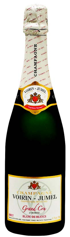 Vino champagne Blanc de Blancs Brut Grand Cru