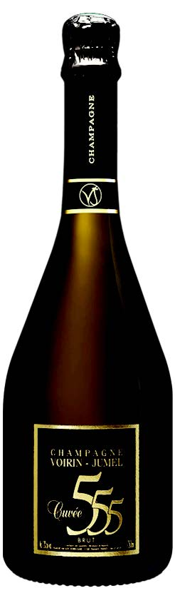 Vino champagne Cuvee' 555 Grand Cru