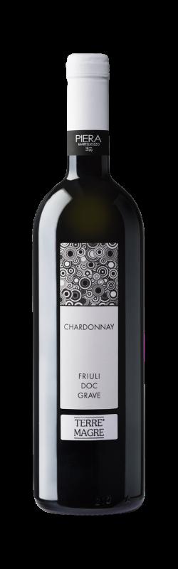 Vino bianco Chardonnay Friuli Grave