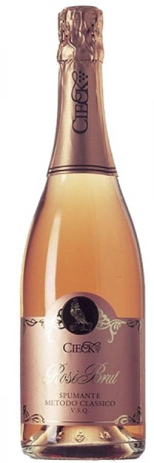 Vino rosso Spumante Metodo Classico Rosé Brut