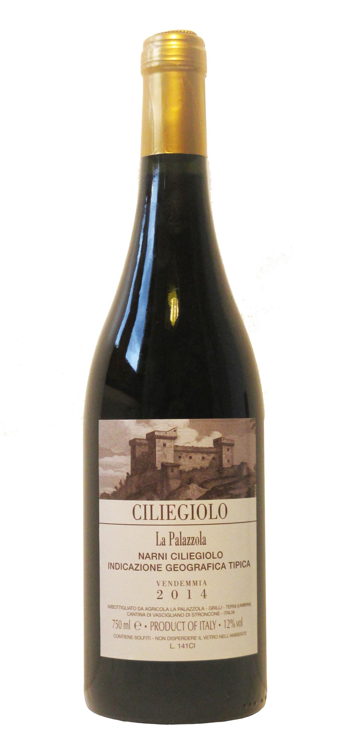 Vino rosso Ciliegiolo Narni