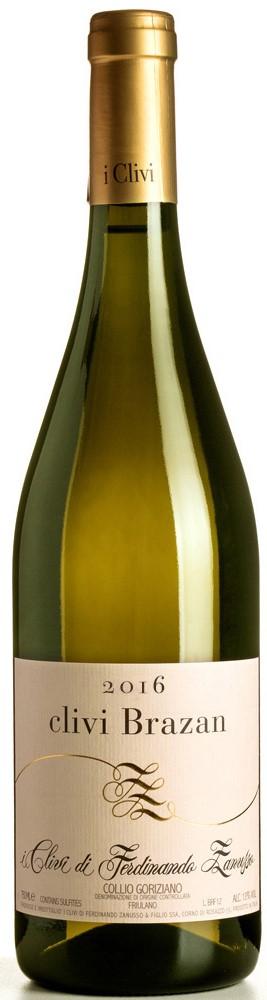 Vino bianco Clivi Brazan Collio
