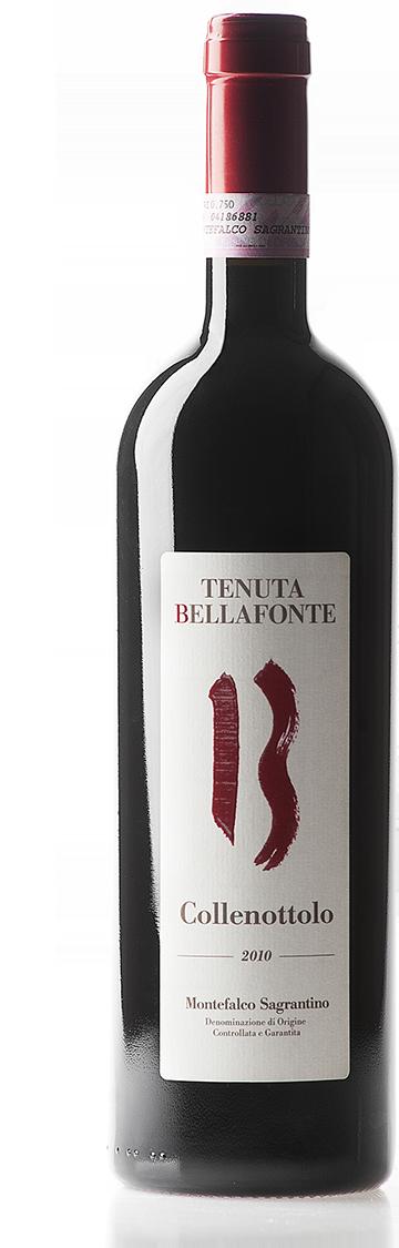 Vino rosso Collenottolo Montefalco Sagrantino