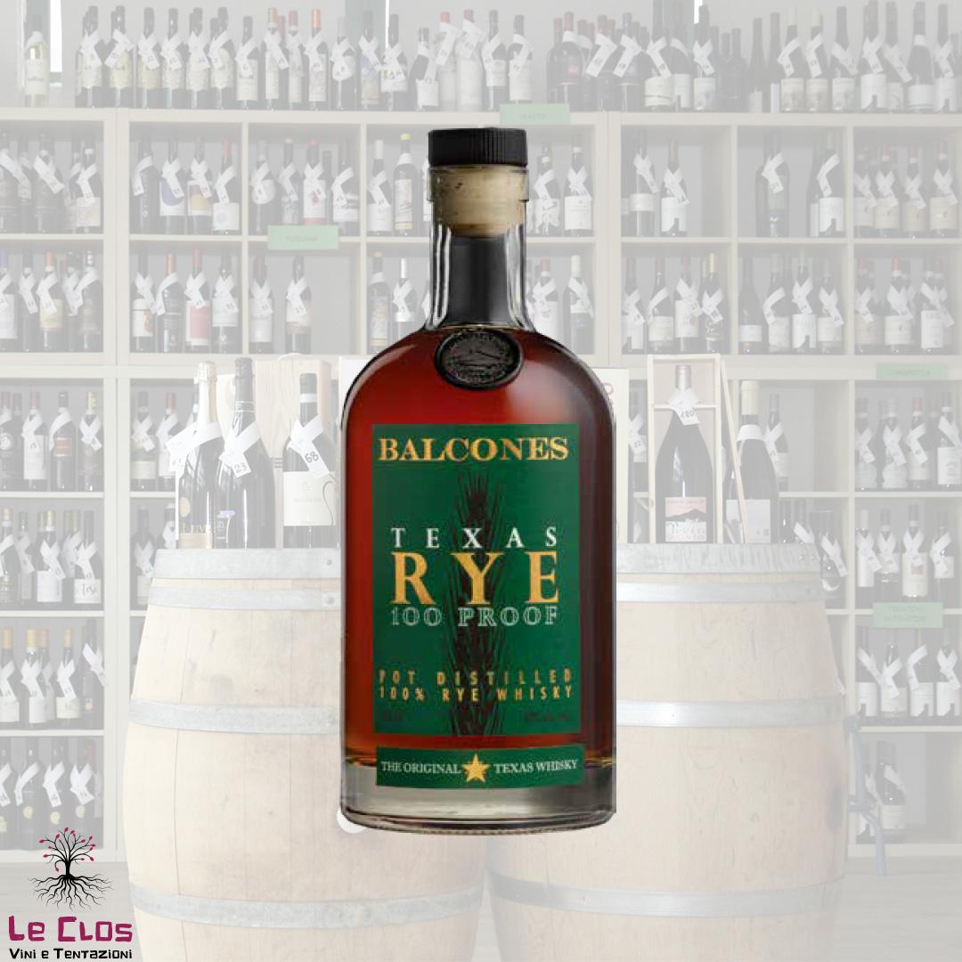Distillato Whisky Texas Rye Distilleria Balcones