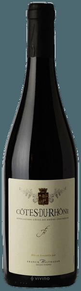 Vino rosso Cotes du Rhone