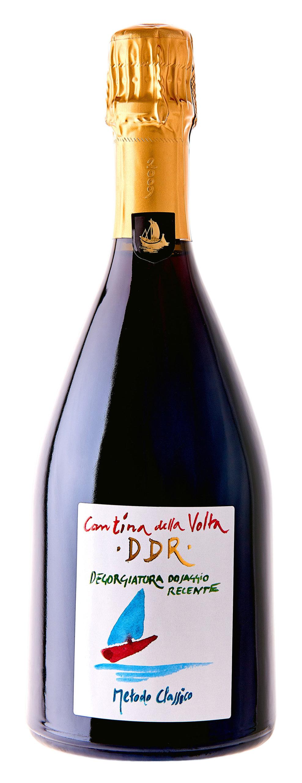 Vino rosso Spumante Metodo Classico Lambrusco di Modena DDR