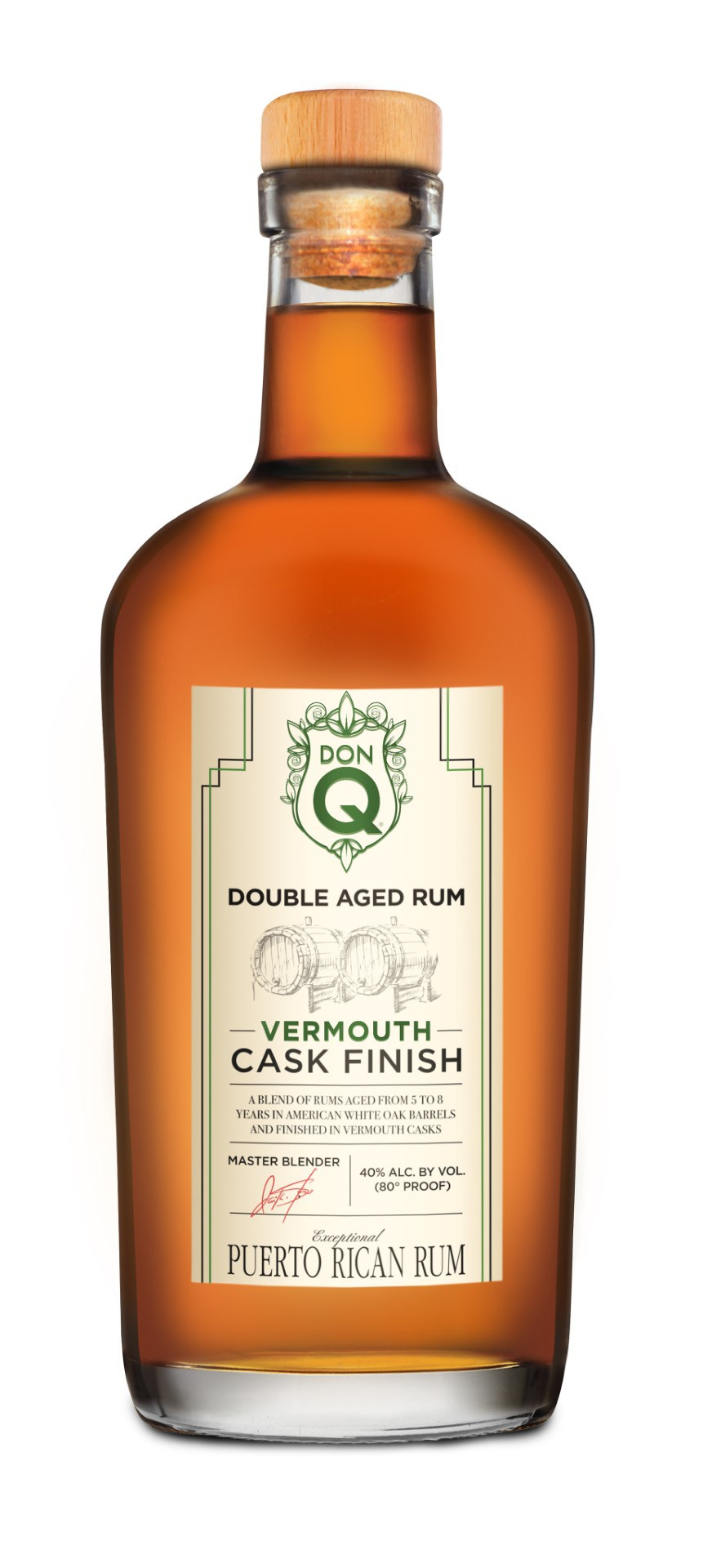 Confezione regalo Double Aged Rum Vermouth Cask Finish DonQ