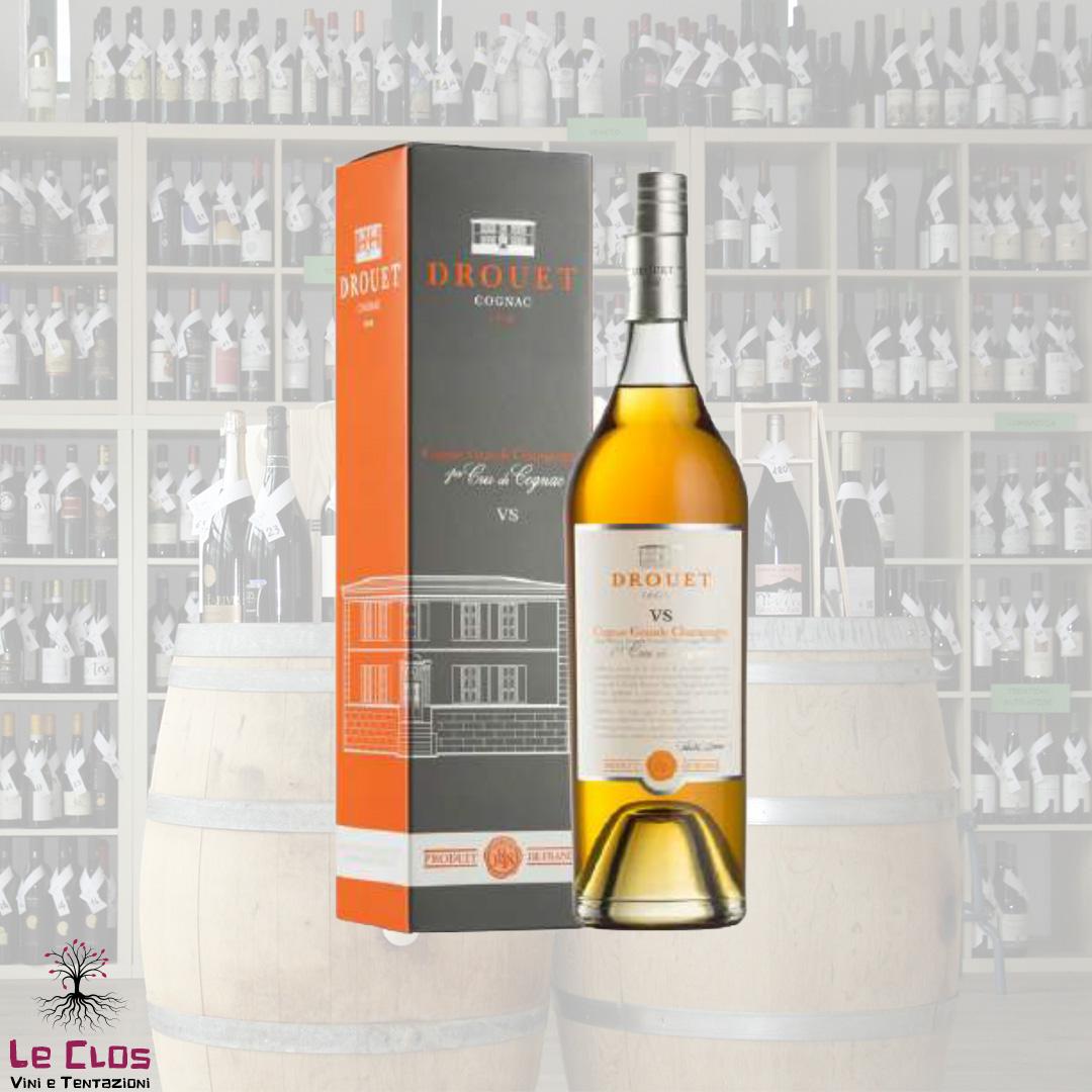 Distillato Cognac VSOP age 5-10 ans Grande Champagne 1er Cru Cru Drouet et Fils