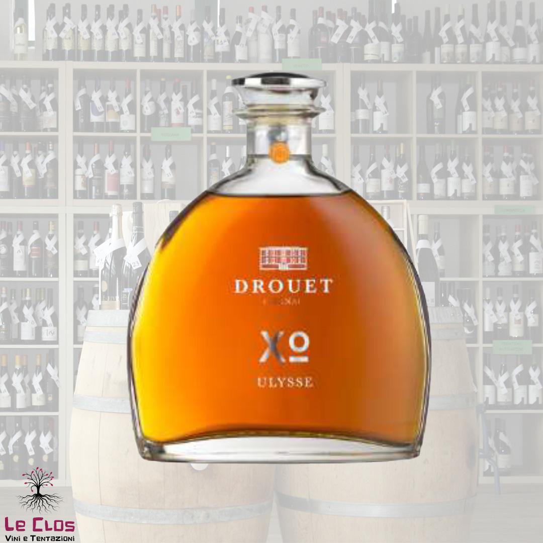 Distillato Cognac X.O. Ulysse age 15-25 ans Grande Champagne 1er Cru Drouet & Fils