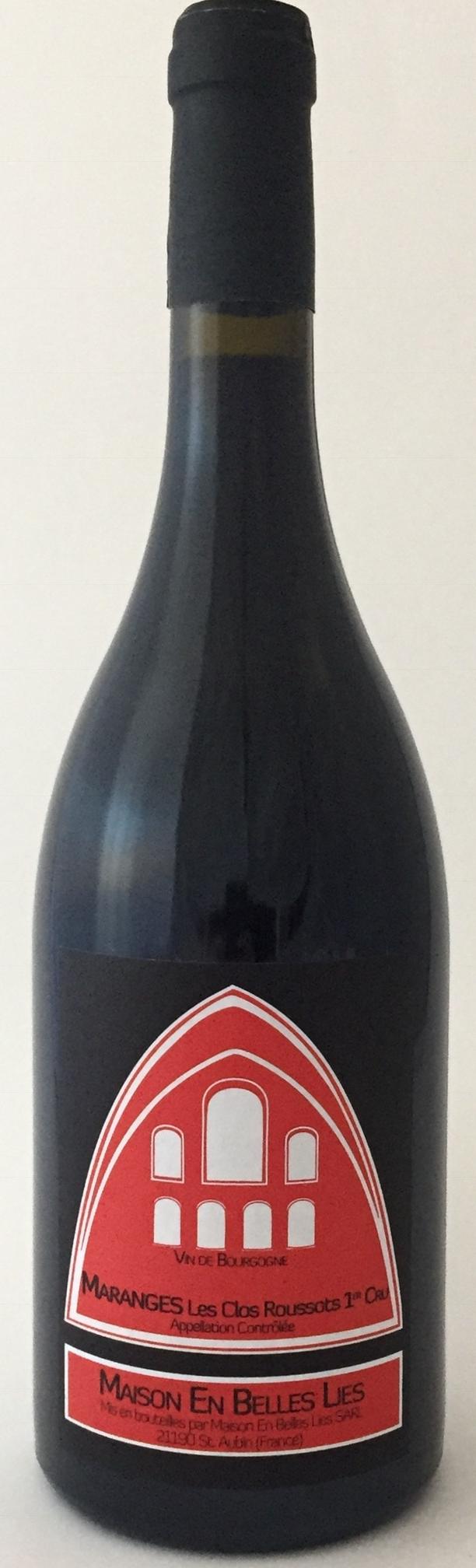 Vino rosso Bourgogne L'Etrange