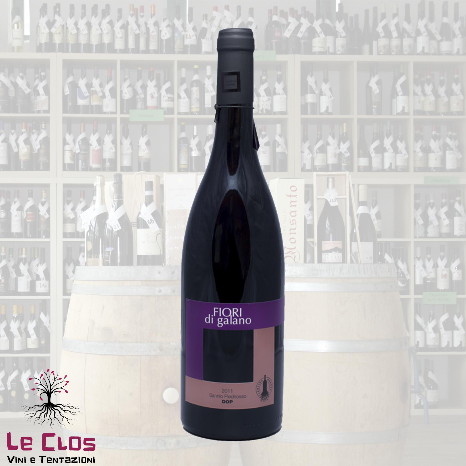 Vino rosso Fiori di Galano Sannio Piedirosso 2012