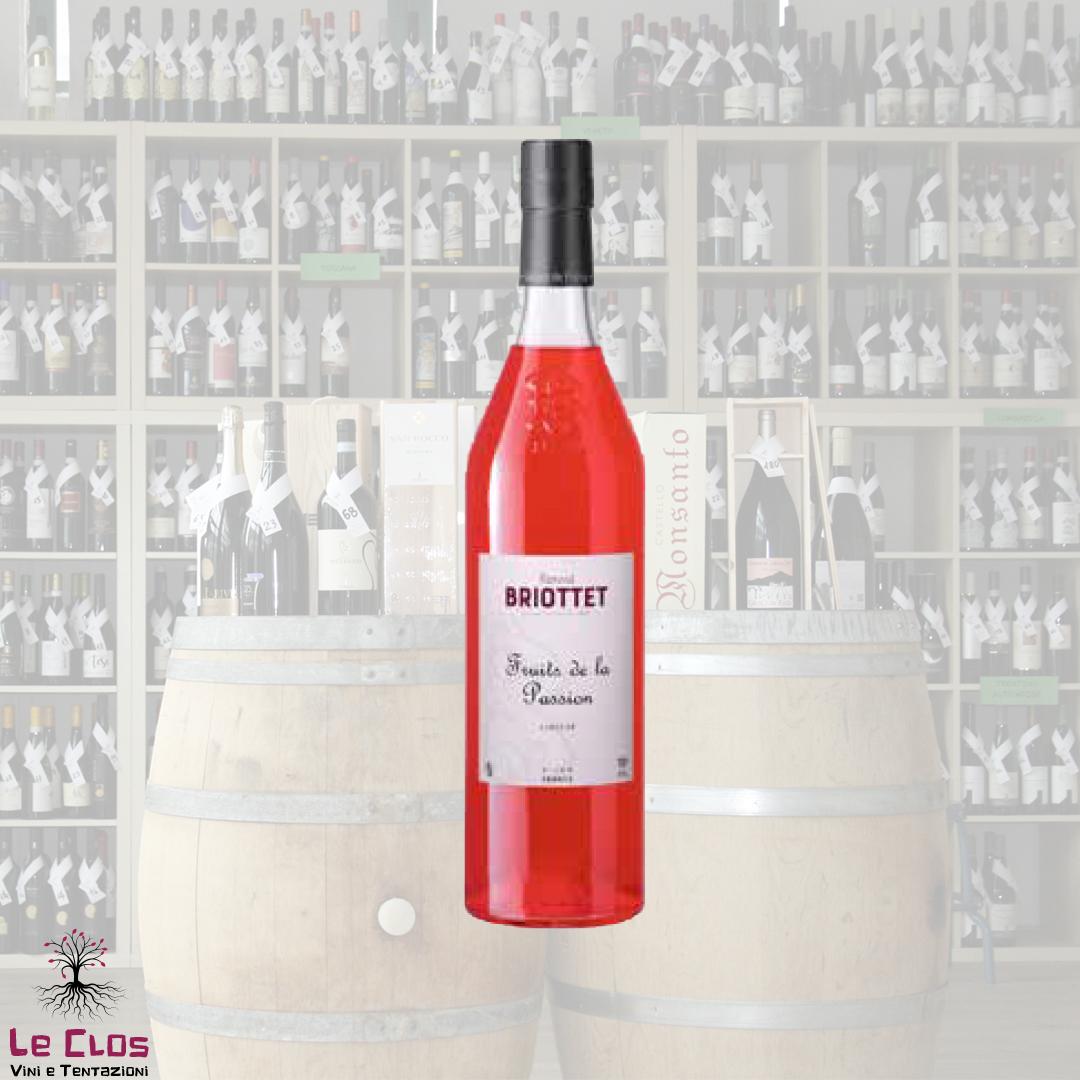 Distillato Liqueur Fruit de la Passion   Briottet