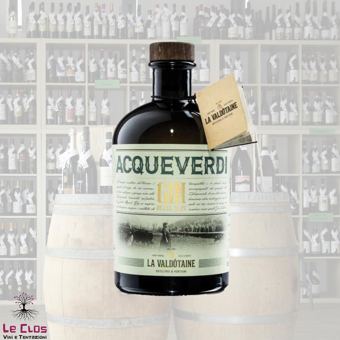 Distillato Acqueverdi Gin - La Valdotaine