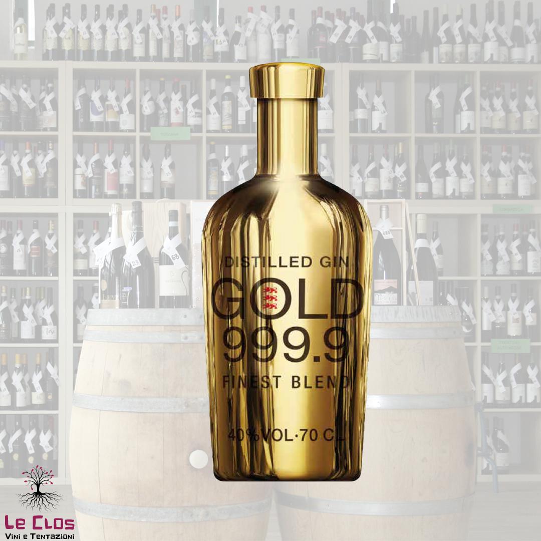 Distillato Gin Gold 999.9 - The Water Company
