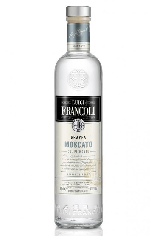 Distillato Grappa Origini Moscato Bianca Francoli