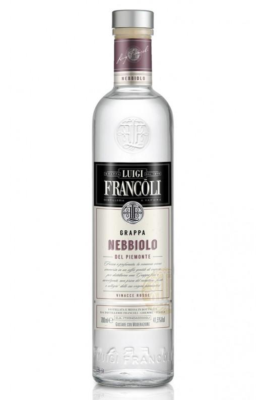 Distillato Grappa Origini Nebbiolo Bianca Francoli