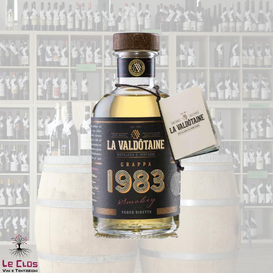 Distillato Grappa Blend 1983 Smokey La Valdotaine